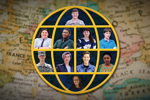 For the 2017-18 school year, eight UNG students were awarded Fulbright grants.   Having eight students selected as finalists and two as alternates set a university record for UNG.