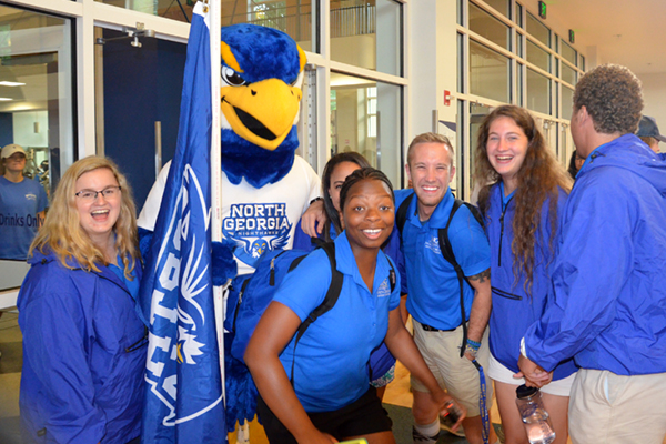 UNG will host Weeks of Welcome events on each of its five campuses during the first two weeks of school.